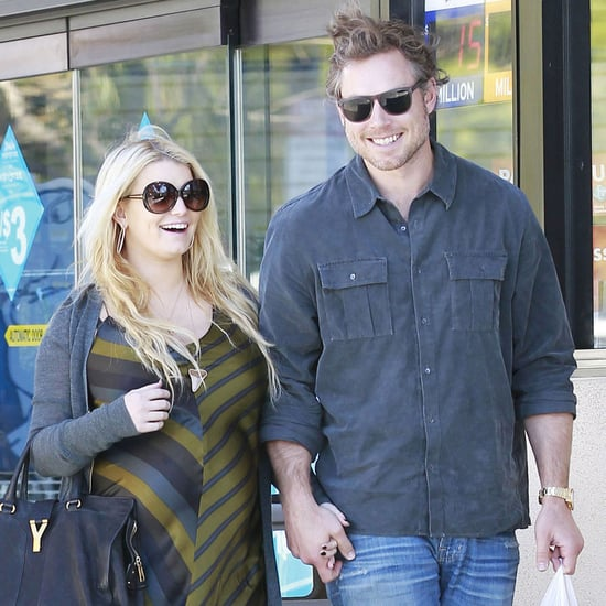 Pregnant Jessica Simpson Pictures With Eric Johnson