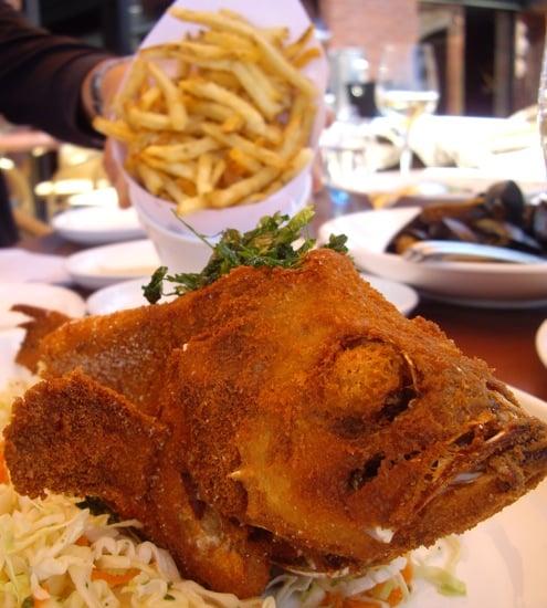 Waterbar's Fish and Chips