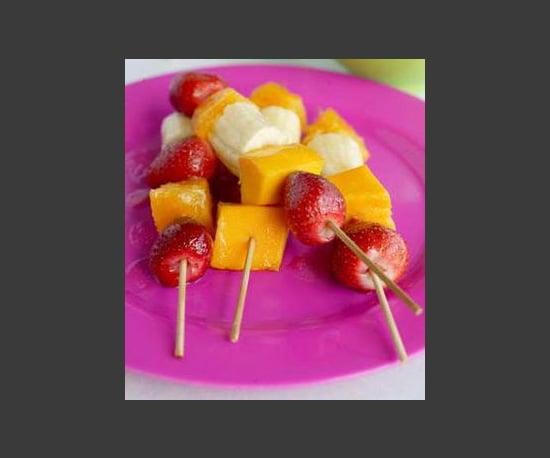 Make Fun Fruit Skewers
