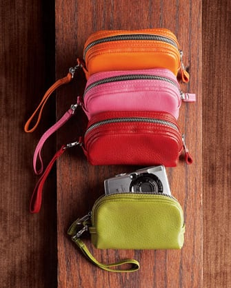 Fully Lined Leather Camera Cases From Neiman Marcus