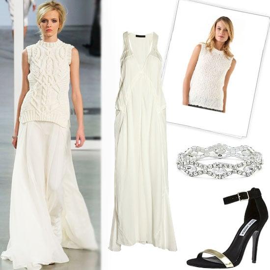 Best Winter White Dresses 2012