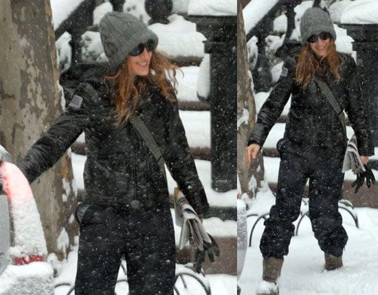 SJP in Winter Wonderland