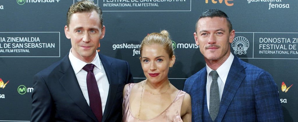Sienna Miller and Her Sexy Costars Hit the Red Carpet in Spain