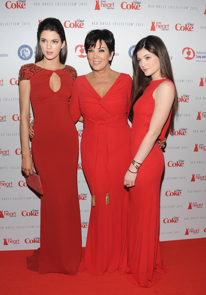 Kendall Jener, Kris Jenner, and Kylie Jenner smiled on the red carpet in NYC.