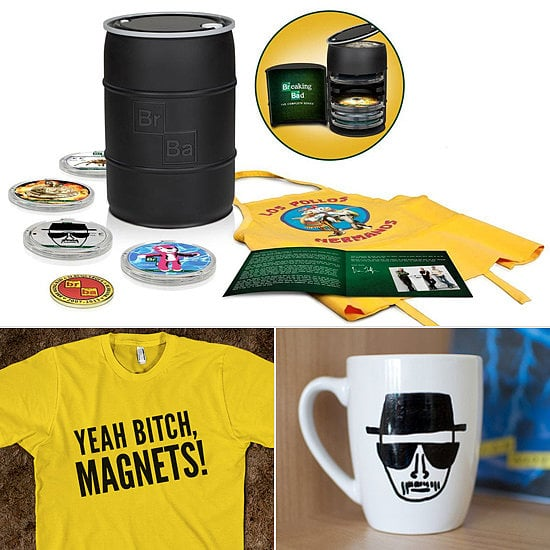 It doesn't matter that Breaking Bad is over, because we're still obsessed with the show and will continue to flaunt our love. If there's someone on your holiday shopping list who's also still obsessed — and bummed the show is over — then cheer her up with one of POPSUGAR Entertainment's cheeky Breaking Bad gifts.