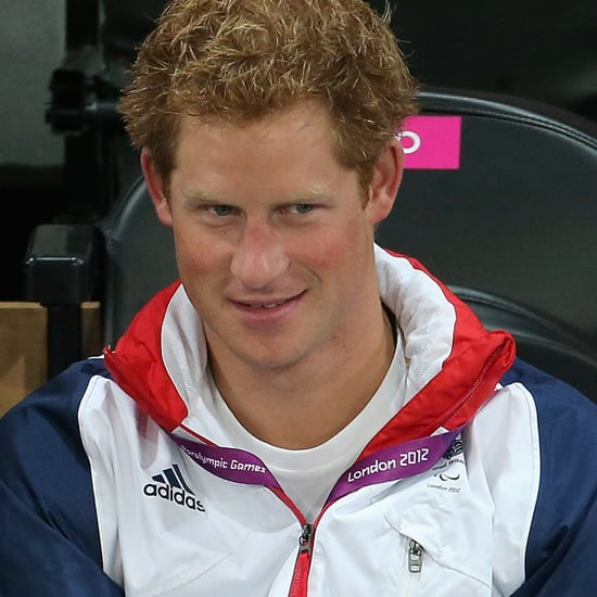 Pictures of Prince Harry At The 2012 Paralympics After Nude Photo Scandal