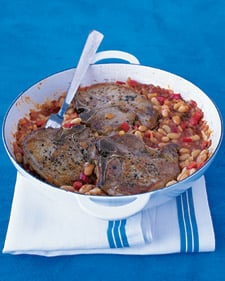 Easy Pork Chop and White Bean Recipe