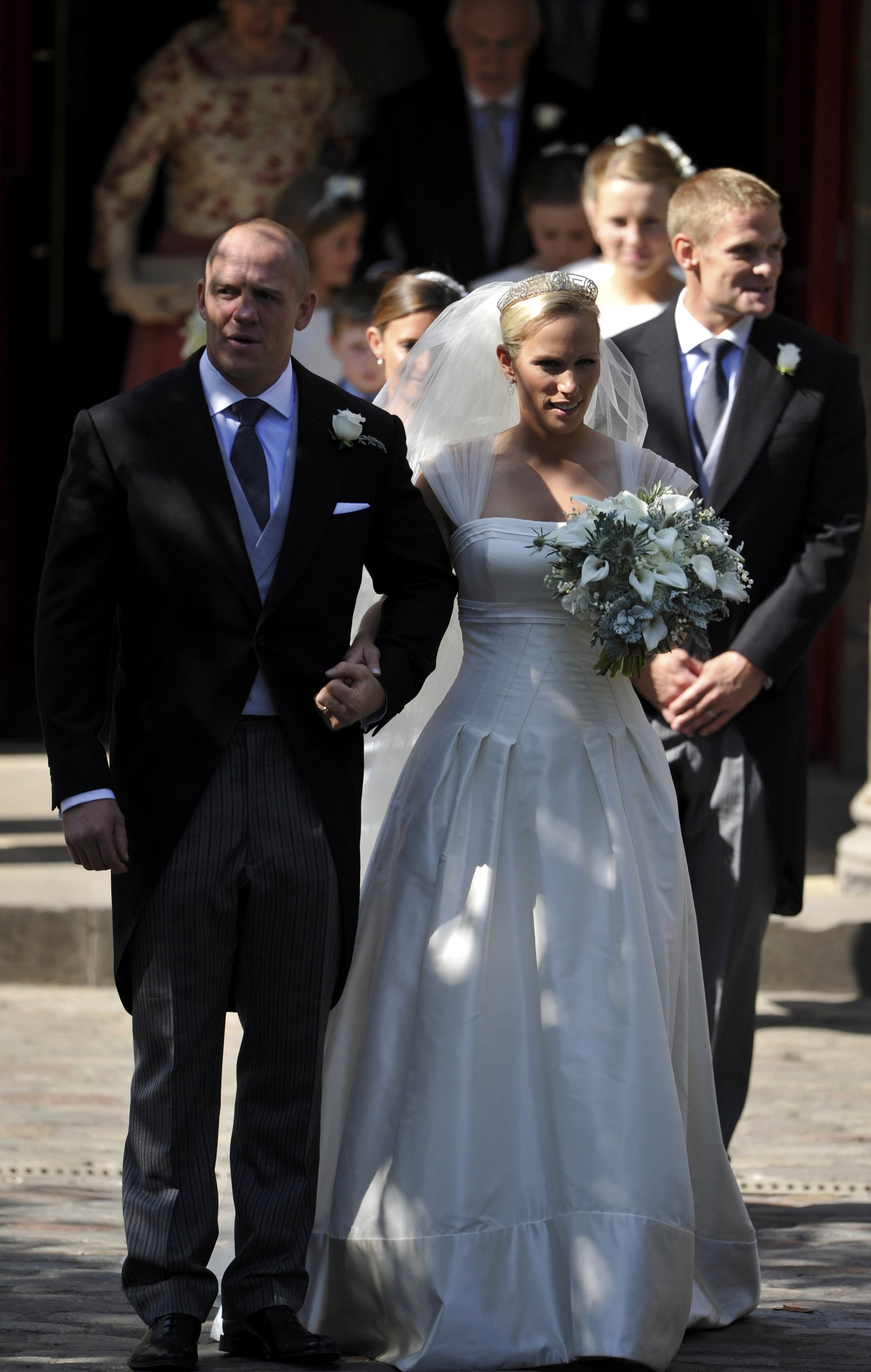 Pictures Of Zara Phillips And Mike Tindall S Royal Wedding