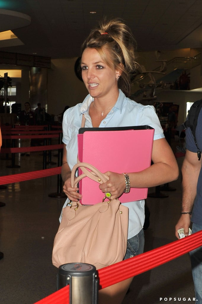 Britney Spears traveled out of New Orleans.