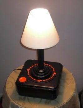 Atari Joystick Lamp Is a Functioning Lamp That Looks Like a Joystick