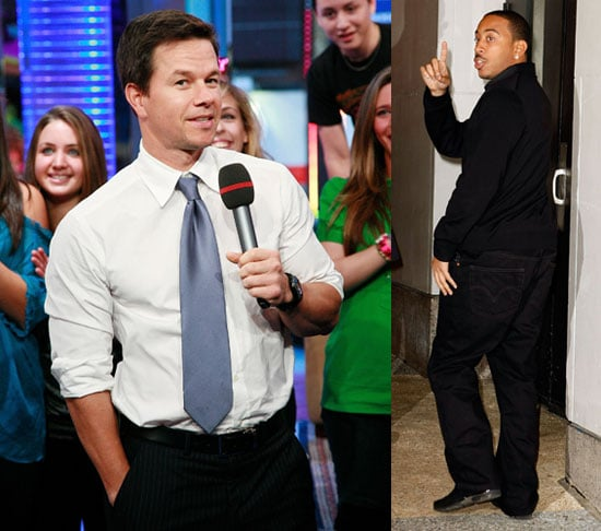 Photos of Mark Wahlberg and Ludacris at TRL