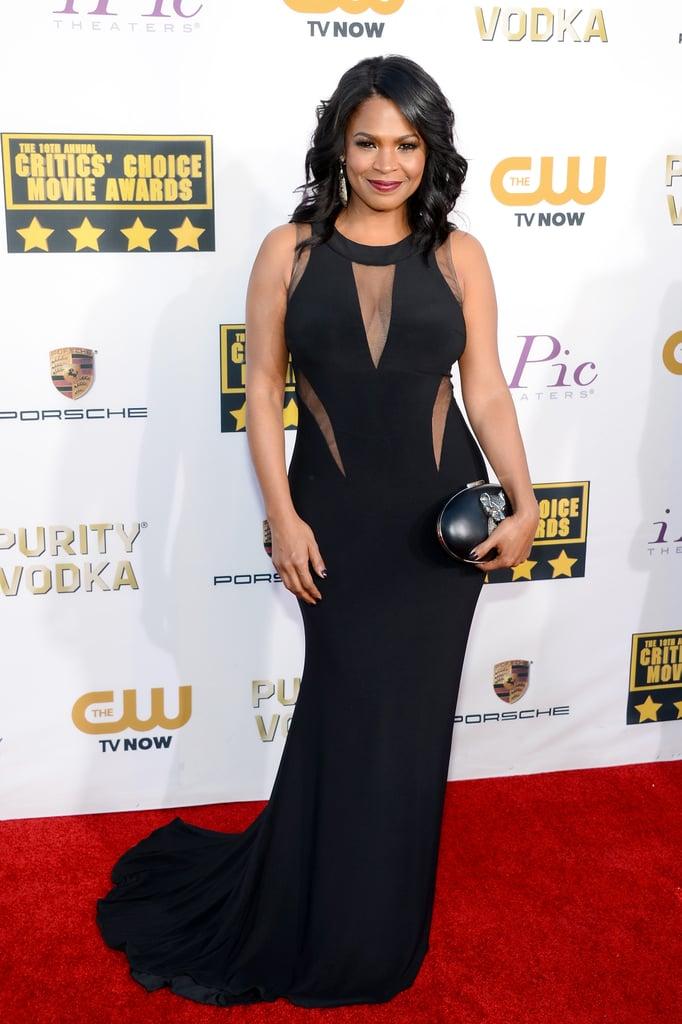 Nia Long at the Critics' Choice Awards 2014