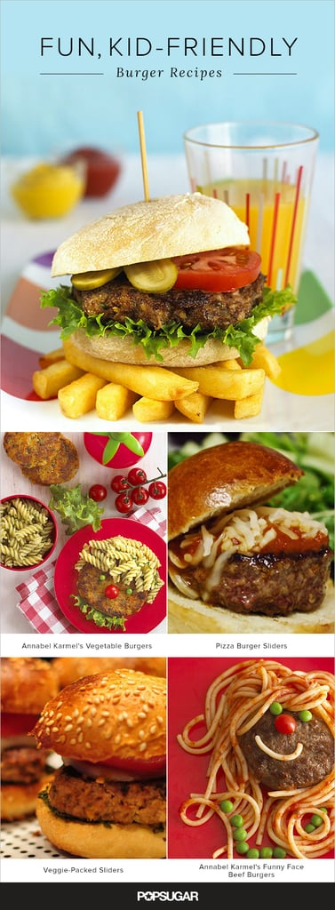 20 Burgers That Will Have Kids Begging For a Barbecue