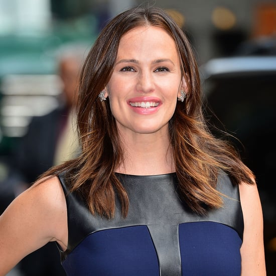 Jennifer Garner Talking Ben Affleck on Letterman | Video