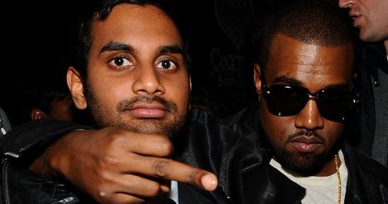 Treat Yo' Self To Aziz Ansari's Absurd Kanye West Music Video