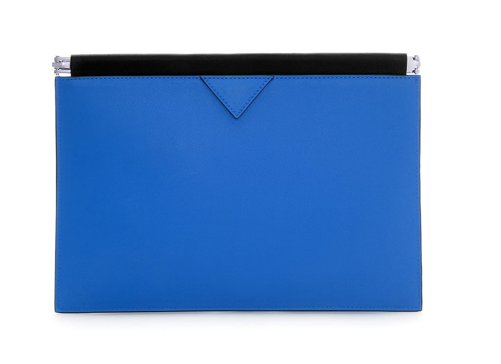 Zara Clutch With Flat Clasp Fastening ($30)