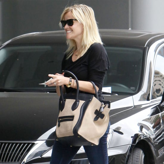 Reese Witherspoon Visiting Jim Toth at Office