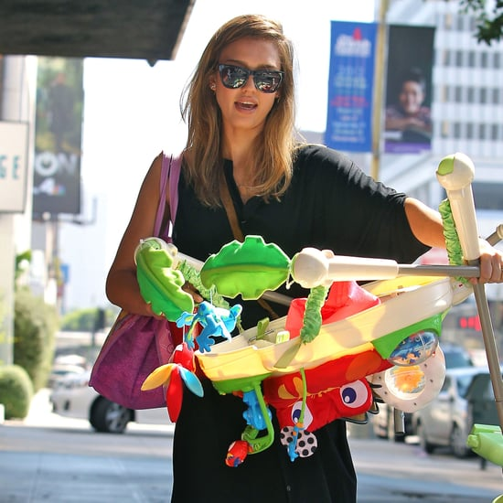 Jessica Alba and Honor Warren at Baby2Baby | Pictures