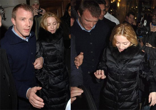 Madonna & Guy's Date Night