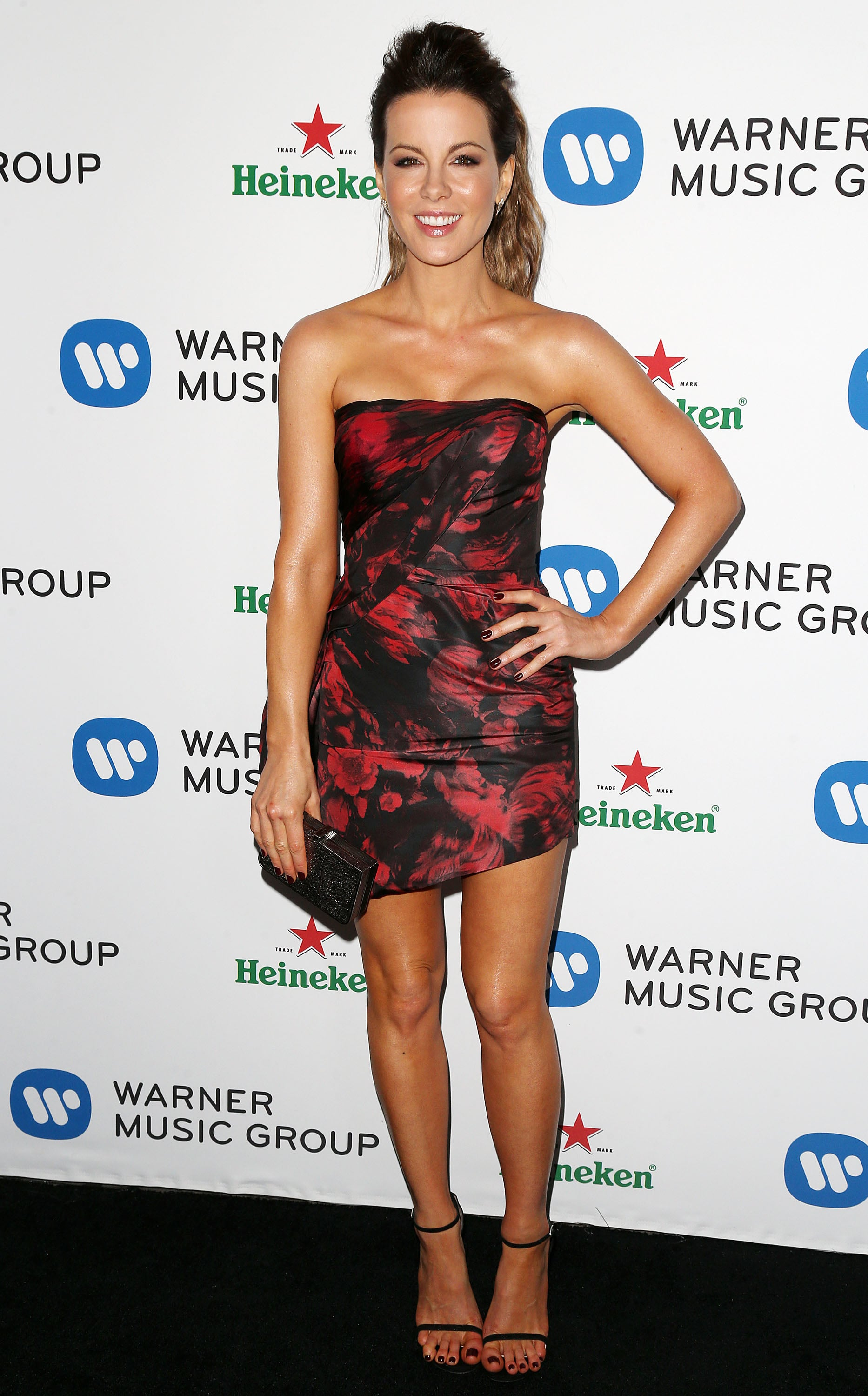Kate Beckinsale at the Warner Group's Grammys Celebration