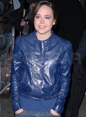 Love It or Hate It? Ellen Page's Blue Eye Makeup