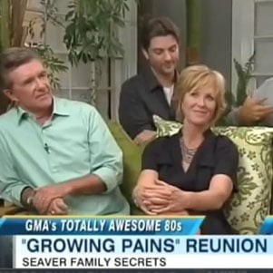 Growing Pains Reunion on Good Morning America [Video]