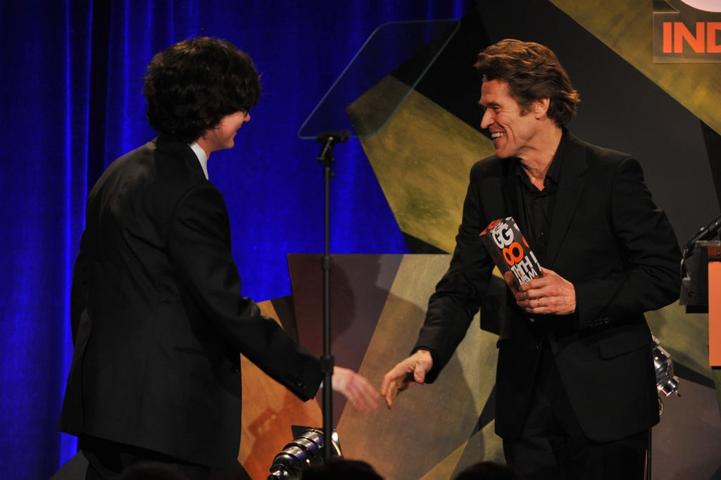 Jared Gilman and Willem DaFoe were in attendance at the Gotham Independent Film Awards.