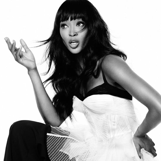 Naomi Campbell in Elle Magazine February 2013