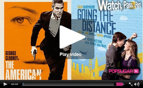 The American and Going the Distance Video Movie Reviews