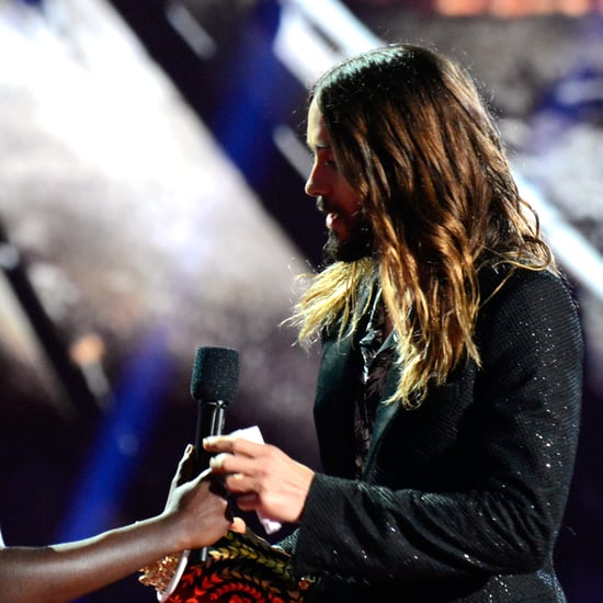 Jared Leto Took Helicopter to MTV Movie Awards