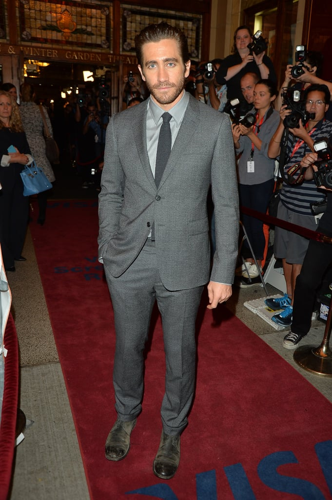 Jake Gyllenhaal strolled the red carpet.