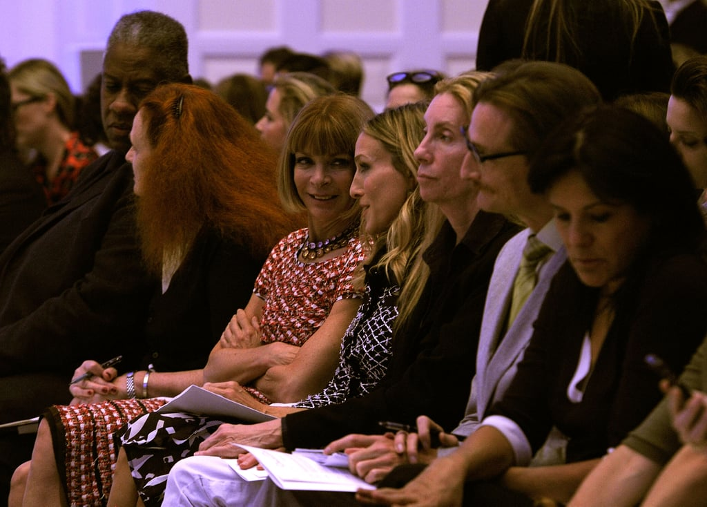 2011 Spring New York Fashion Week: Celeb Spotting!