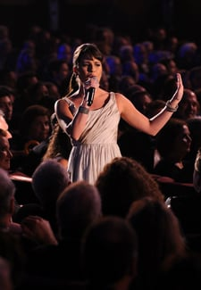 Video of Lea Michele and Matthew Morrison Singing at the 2010 Tony Awards 2010-06-14 06:00:00
