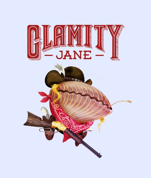 """Clamity Jane The Concept: """"Schools of bandits feared her. Wild Krill Hickock and his pod of brothers revered her. Around these salty parts, those who crossed Clamity Jane left with their caudal fins between their other fins."""" The Real Deal: Consider Calamity Jane, or Martha Jane Cannary, a folk hero of the Old West; the frontierswoman is perhaps best remembered for her relationship with the legendary """"Wild Bill"""" Hickok."""