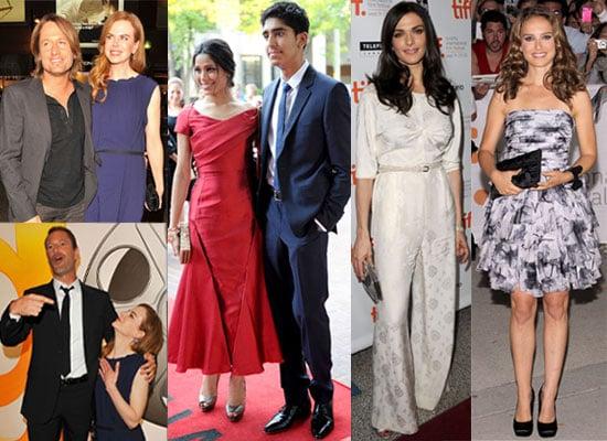 Pictures from the 2010 Toronto Film Festival : Black Swan, Miral, Freida Pinto, Natalie Portman, Dev Patel, Nicole Kidman