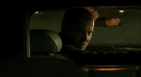 Bullets don't kill Jack Bauer, because they're afraid to.