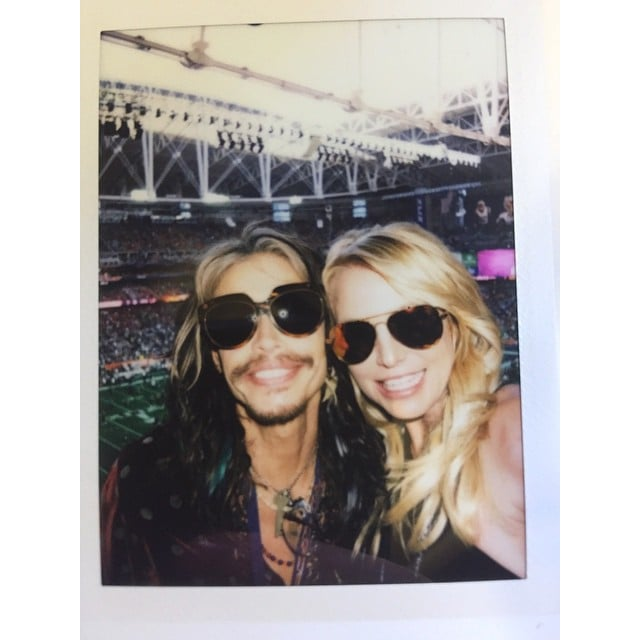 Britney Spears and Steven Tyler popped up at the 2015 Super Bowl. It had been 14 years since we saw them perform at the 2001 halftime show.