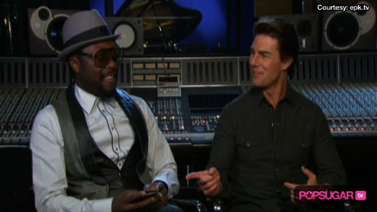 Video of Tom Cruise and the Black Eyed Peas