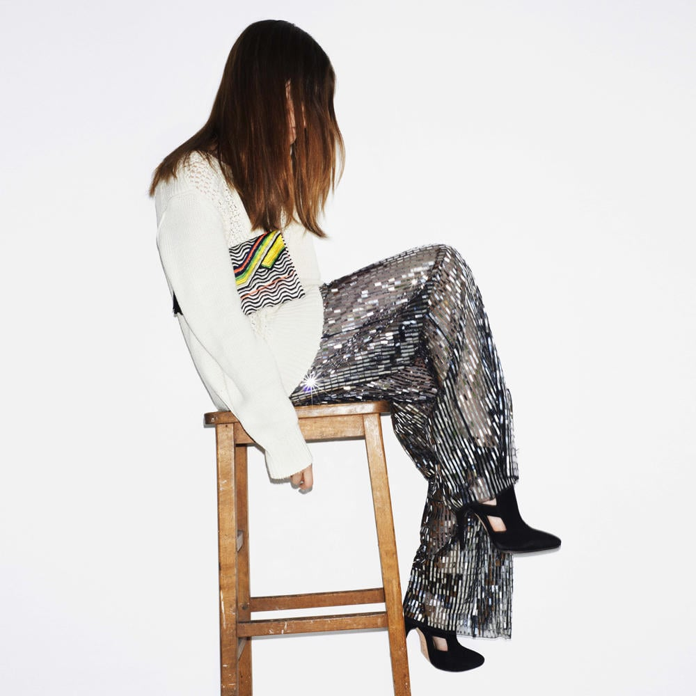 Who's that girl? sass & bide released a teaser image for their new campaign and kept us in the dark for ages before revealing Coco Rocha as their amazing new ambassador. Source: Twitter user sass_and_bide