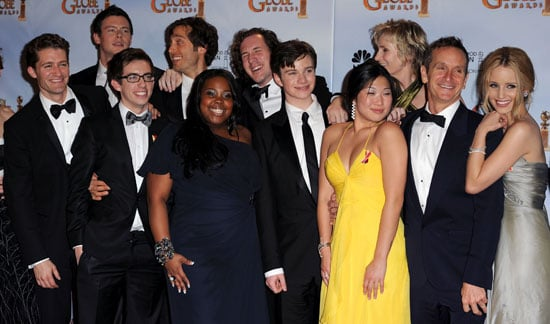 Glee Cast Photos Quotes Golden Globes