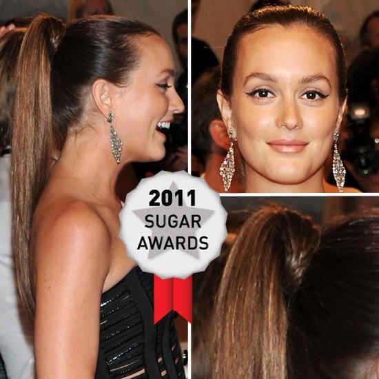Leighton Meester's Met Gala Look Wins Best Hairstyle of the Year!