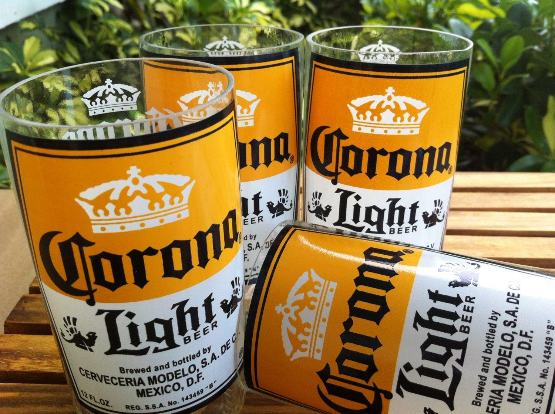 Corona Recycled Glasses