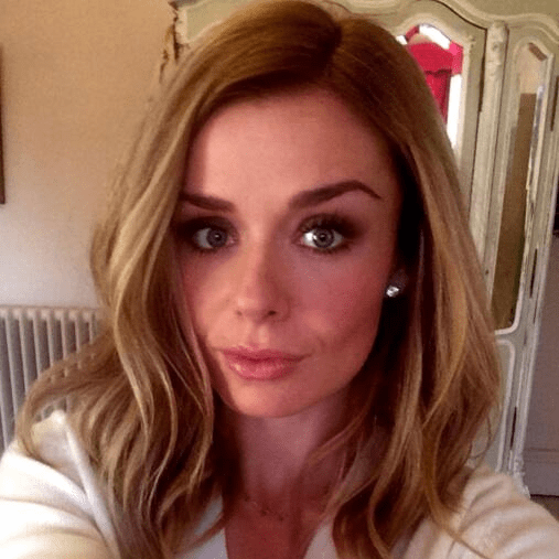 Katherine Jenkins's New Dark Blonde Hair Colour | Photos