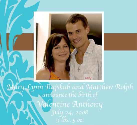 Mary Lynn Rajskub and Matthew Rolph Have a Boy!
