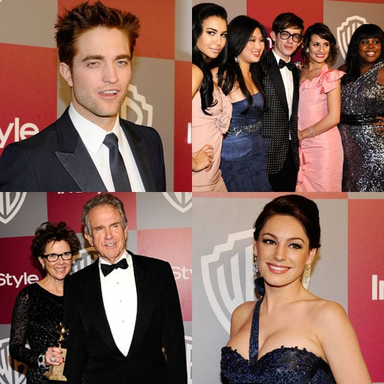Pictures of Robert Pattinson, Glee Cast, Kelly Brook, Cat Deeley and Guests at InStyle Golden Globe Awards 2011 Afterparty