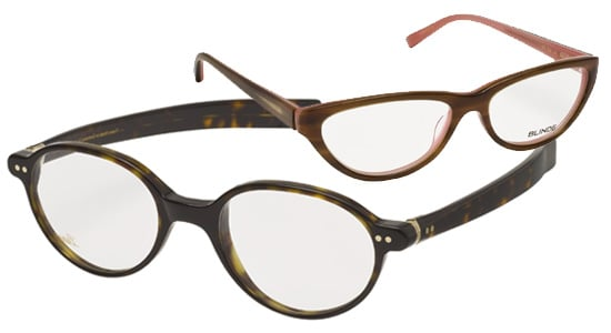 Designer Frames Glasses at Auerbach & Steele by Pucci, Oliver Peoples, Blinde, and Lunor