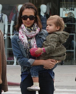 Photo of Honor Warren Wearing Baby Bracelet