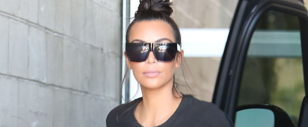 Kim Kardashian Steps Out With Khloé After Leaking Kanye West's Phone Call With Taylor Swift