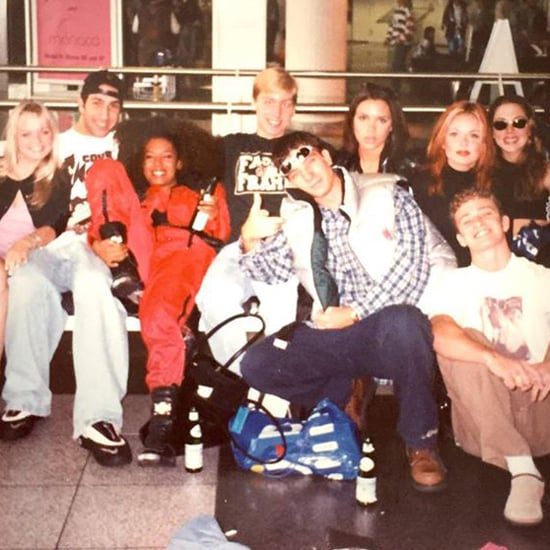 Lance Bass's *NSYNC and Spice Girls Throwback Picture