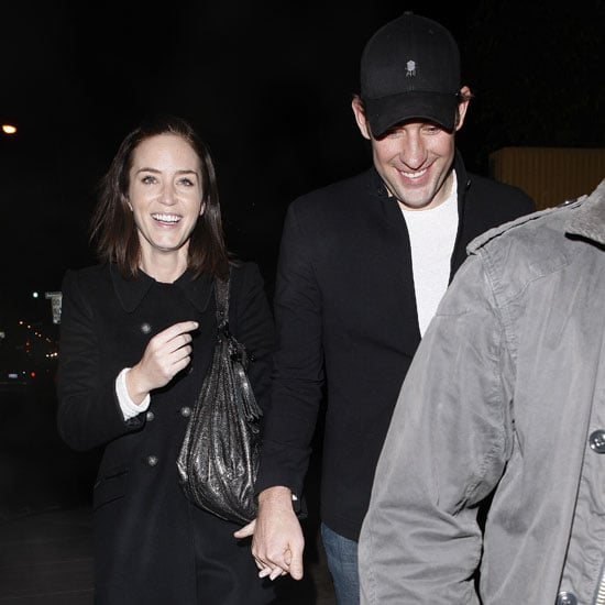 Emily Blunt and John Krasinski Double Date Pictures